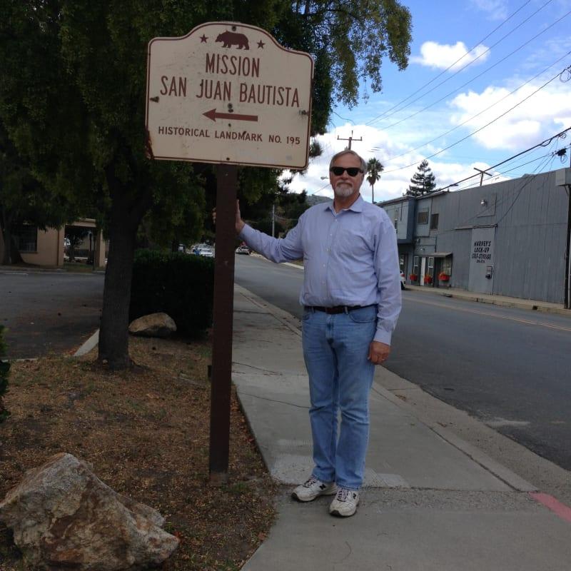 CHL #195 - Mission San Juan Bautista - State Street Sign