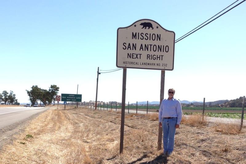 CHL No. 232 - Mission San Antonio de Padua - State Street Sign