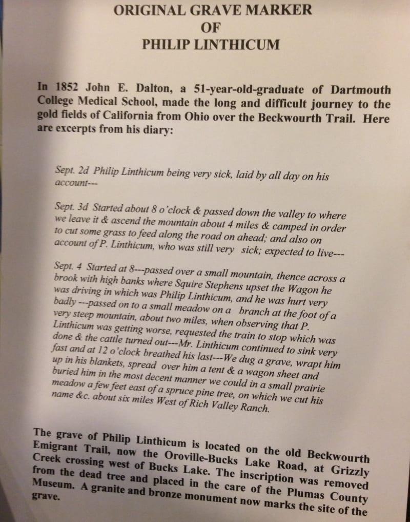 NO. 212 PIONEER GRAVE - Diary of John E. Dalton