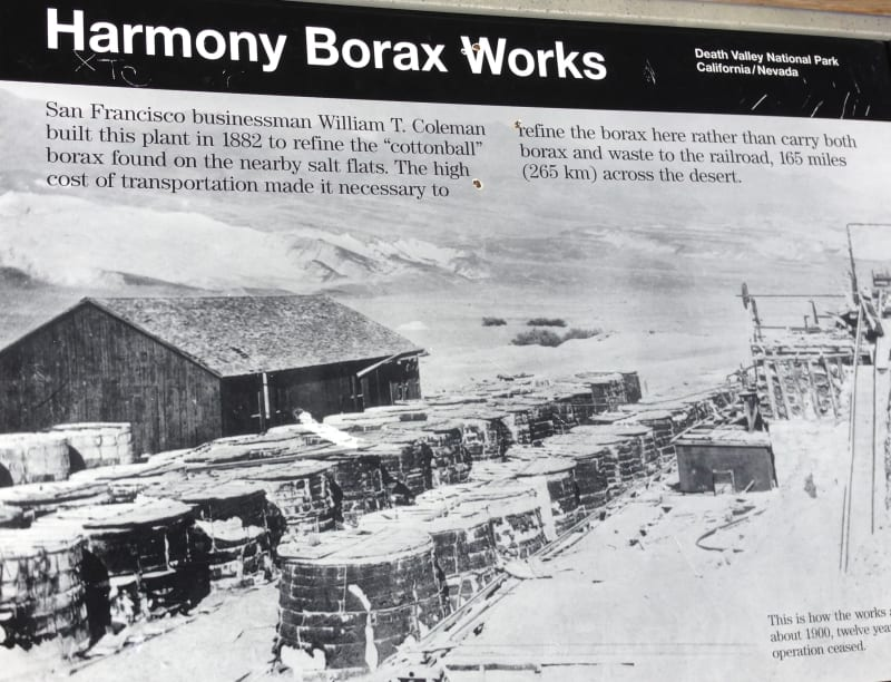 No. 773 OLD HARMONY BORAX WORKS