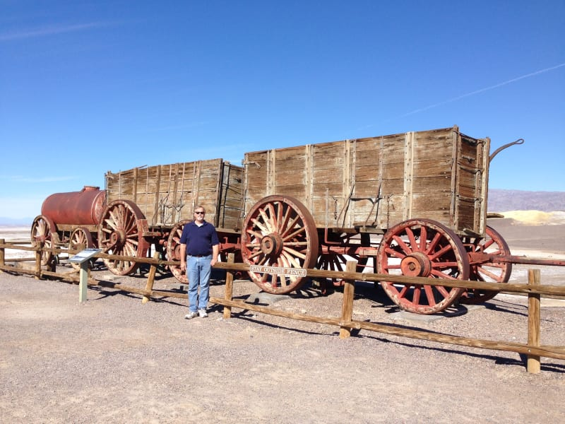 No. 773 OLD HARMONY BORAX WORKS -   20-Mule-Train Carts