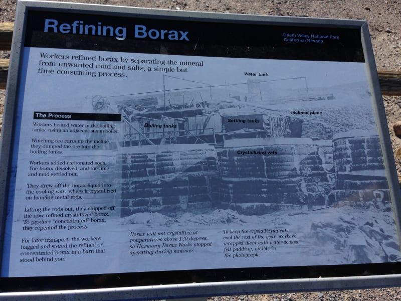 No. 773 OLD HARMONY BORAX WORKS - Refining Borax