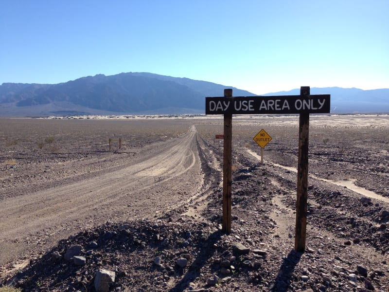 NO. 826 OLD STOVEPIPE WELLS - Turn off from State Hwy 190