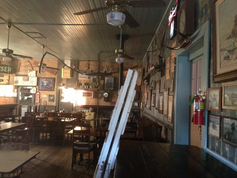 NO. 938 RAND MINING DISTRICT - Interior of the White House Saloon