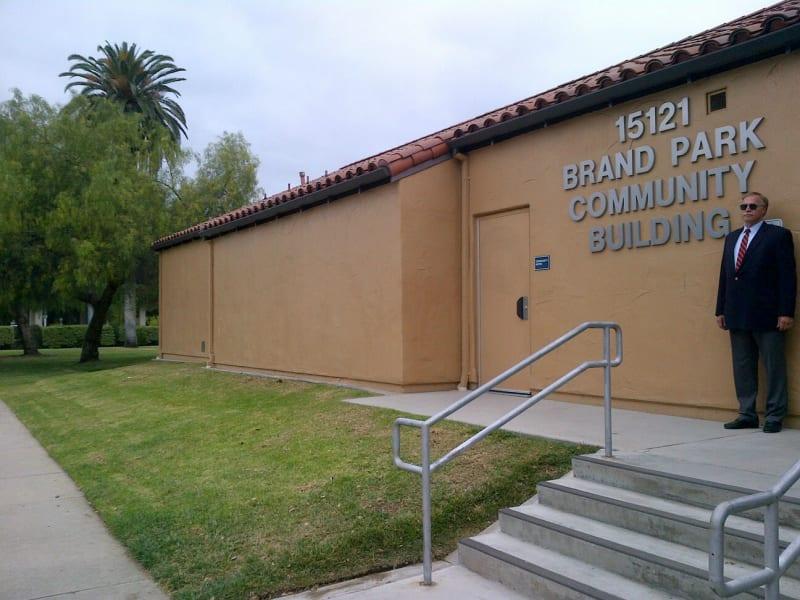 NO. 150 BRAND PARK (MEMORY GARDEN) - Community Center