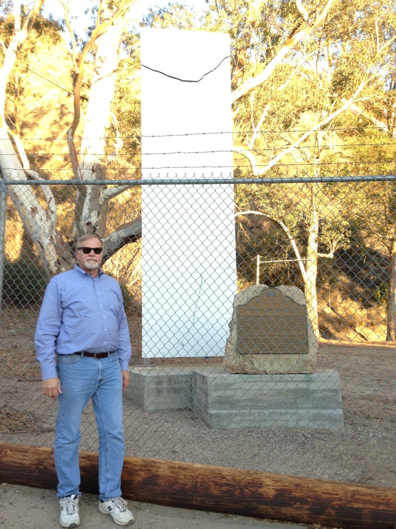 NO. 919 ST. FRANCIS DAM DISASTER SITE - Marker