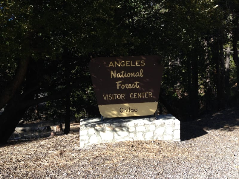 NO. 632 OLD SHORT CUT -  Angeles National Forest, Chilao
