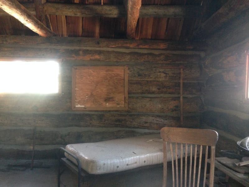 NO. 632 OLD SHORT CUT - California's First Ranger Station, interior