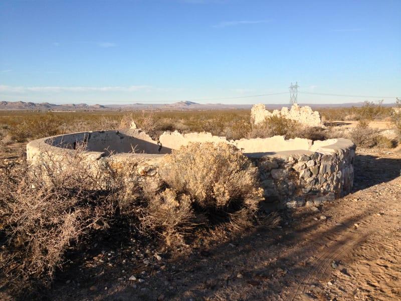 CHL No. 933 Llano Del Rio - Cistern