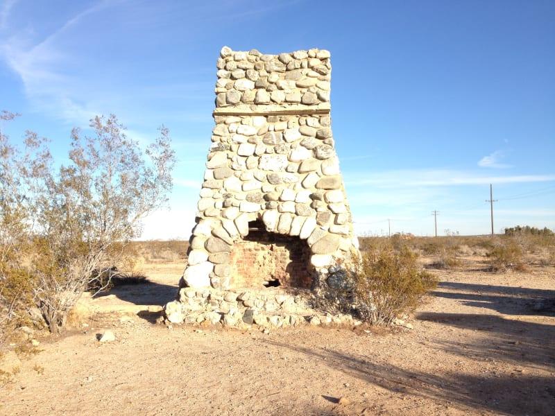 CHL No. 933 Llano Del Rio - East Fireplace