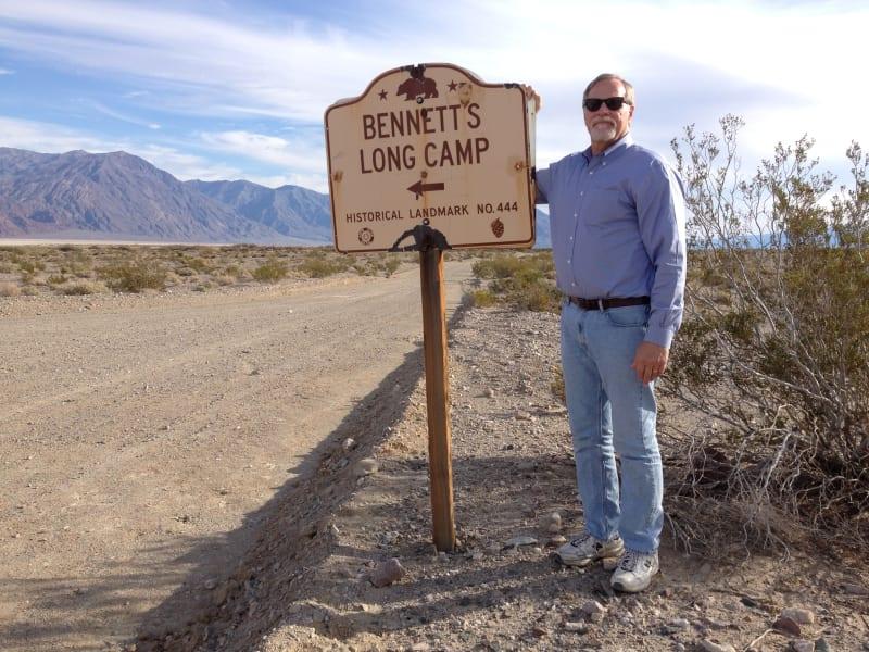 CHL No. 444 Bennett-Arcane Long Camp - Road Sign