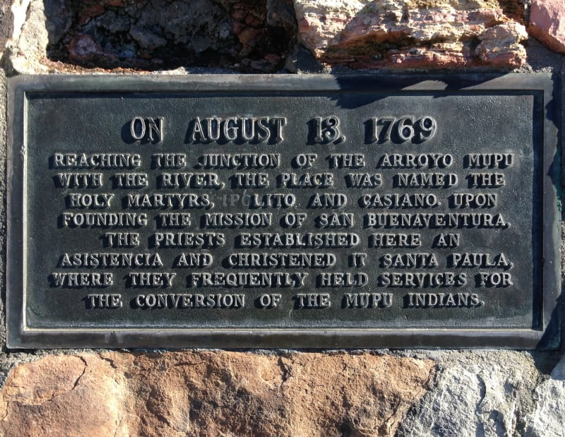 NO. 727 PORTOLÁ EXPEDITION - Private Plaque