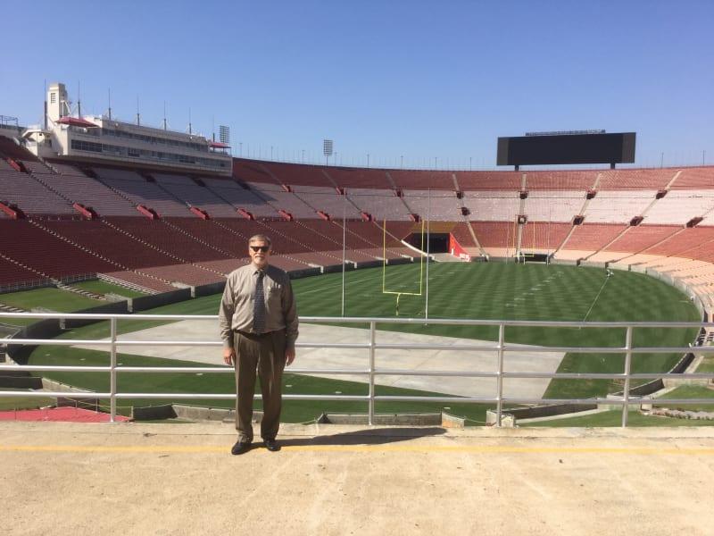 NO. 960 LOS ANGELES MEMORIAL COLISEUM - The Field