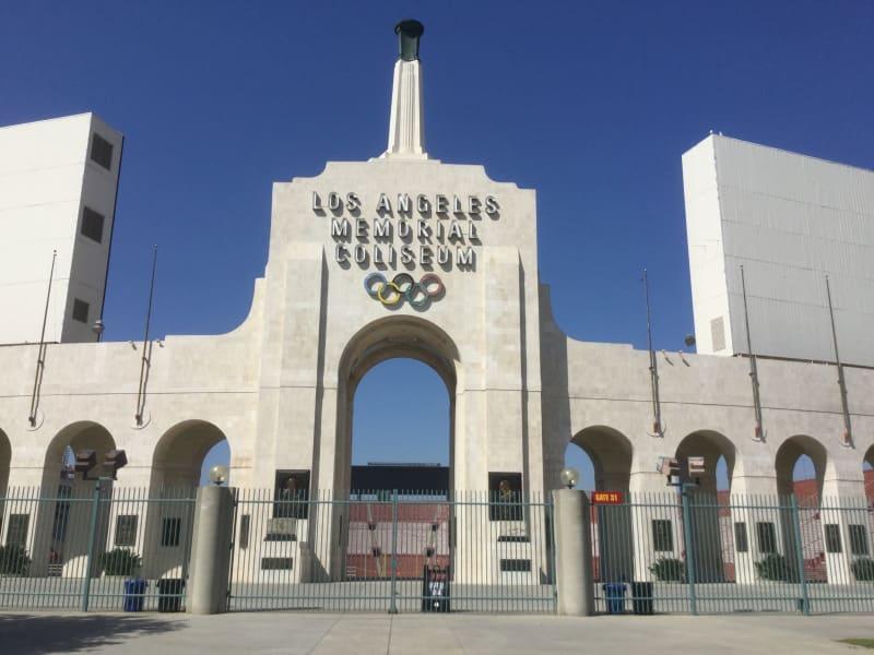 NO. 960 LOS ANGELES MEMORIAL COLISEUM - Entrance