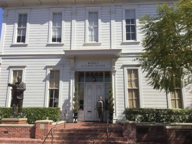 NO. 536 ORIGINAL BUILDING OF THE UNIVERSITY OF SOUTHERN CALIFORNIA -Widney Alumni Hall