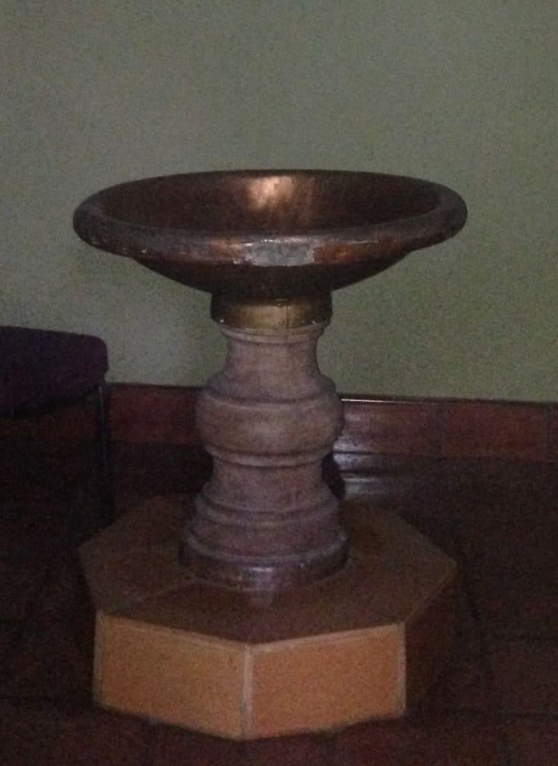 NO. 144 NUESTRA SEÑORA LA REINA DE LOS ANGELES - Baptismal Font