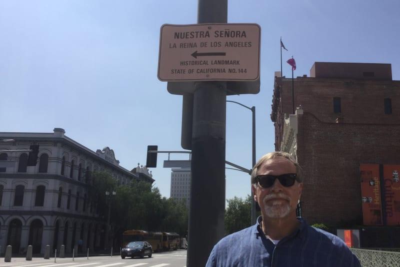 NO. 144 NUESTRA SEÑORA LA REINA DE LOS ANGELES - Street Sign