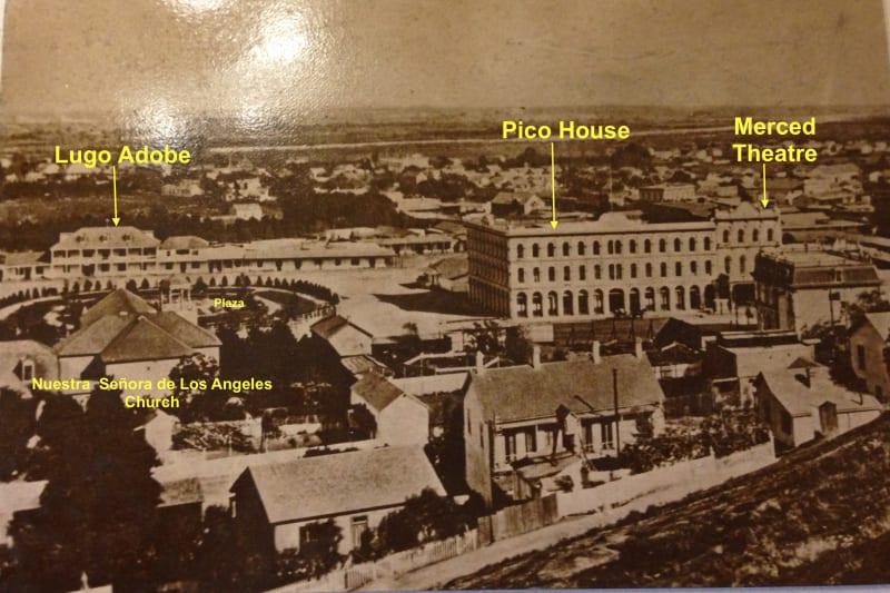 NO. 159 PICO HOUSE (HOTEL) - Old Photo