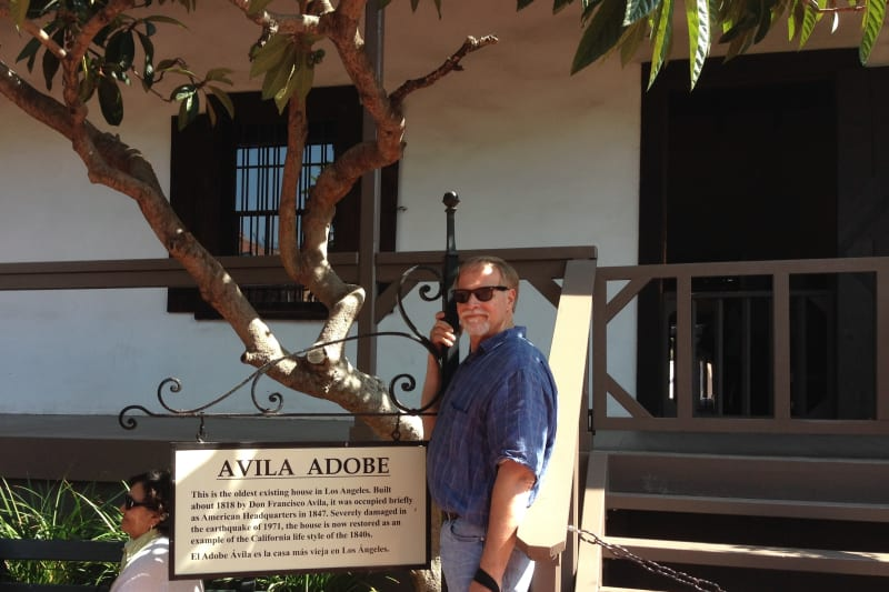 NO. 145 AVILA ADOBE - Front Porch