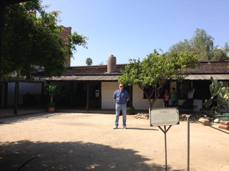 NO. 145 AVILA ADOBE - Courtyard