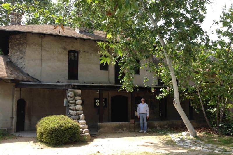 NO. 531 LUMMIS HOME - Back Exterior