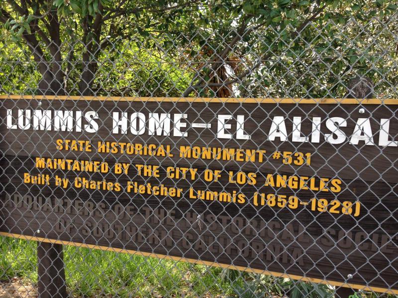NO. 531 LUMMIS HOME - Sign