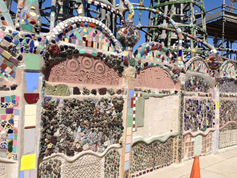 NO. 993 WATTS TOWERS OF SIMON RODIA - Malibu Tile Walls