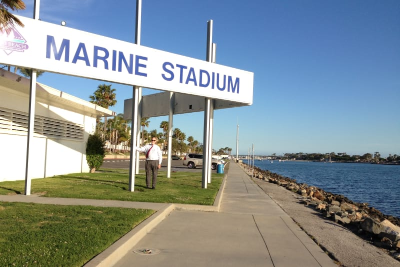 NO. 1014 LONG BEACH MARINE STADIUM