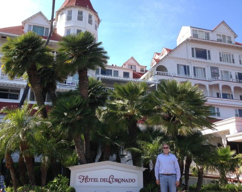 NO. 844 HOTEL DEL CORONADO - Front of the Hotel