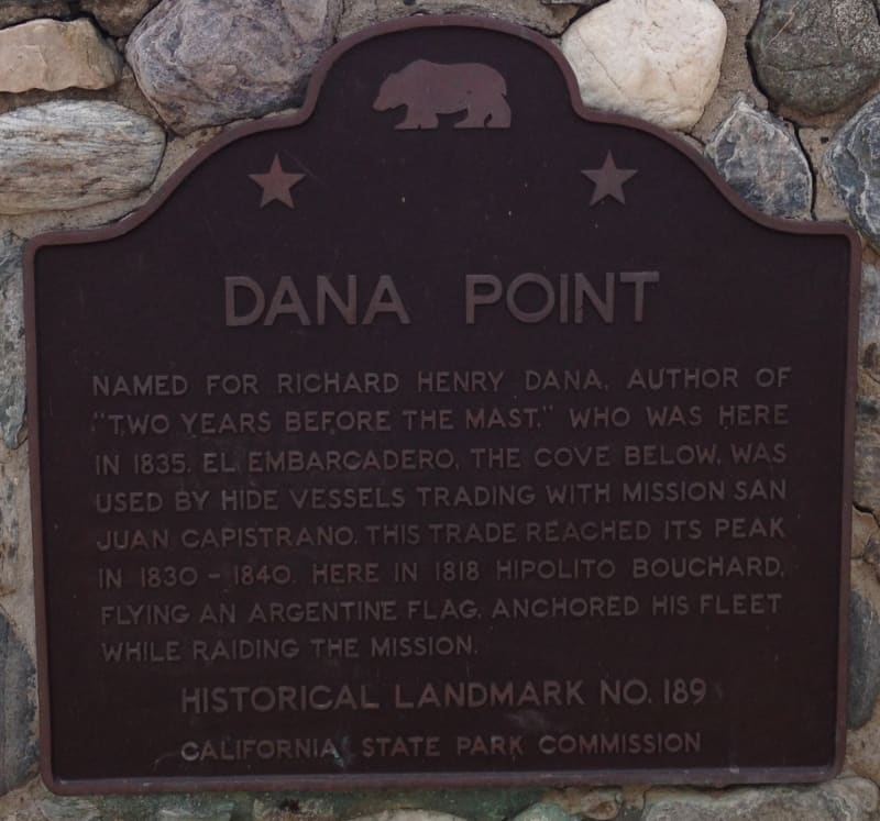 NO. 189 DANA POINT - State Plaque