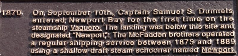 NO. 198 OLD LANDING - Inscription