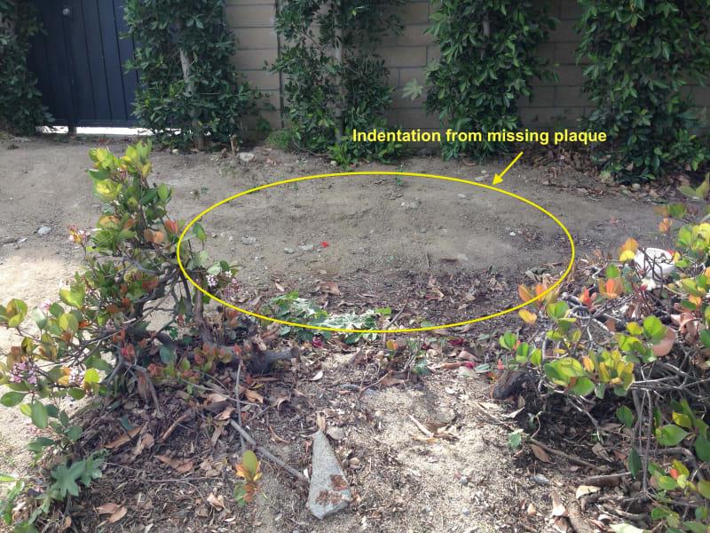 NO. 198 OLD LANDING - Footprint of the Missing Marker