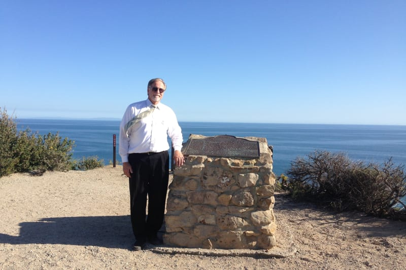CHL No. 965 - Point Dume - Marker
