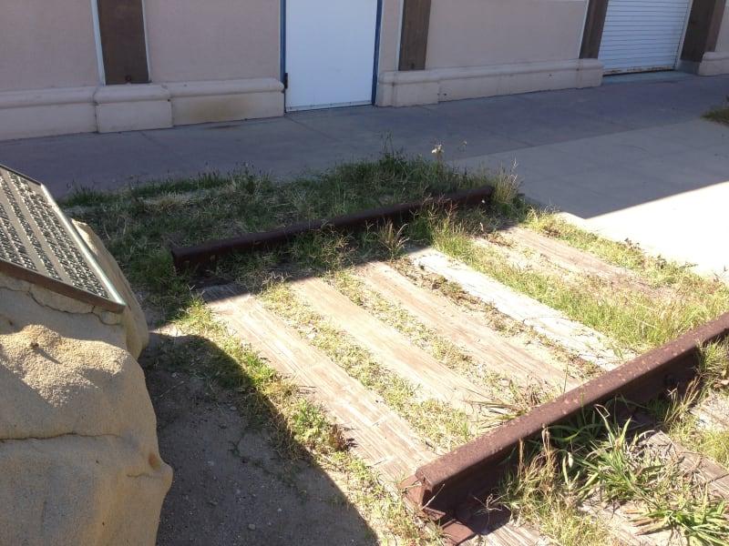 CHL No. 881 Port of Los Angeles Long Wharf - Train Tracks