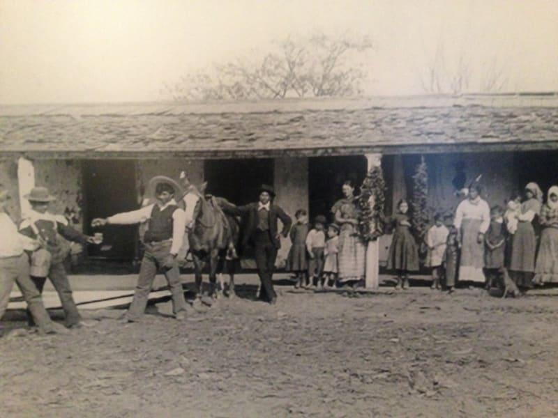 NO. 127 CASA DE GOVERNOR PÍO PICO - Front of Casa in 1880's