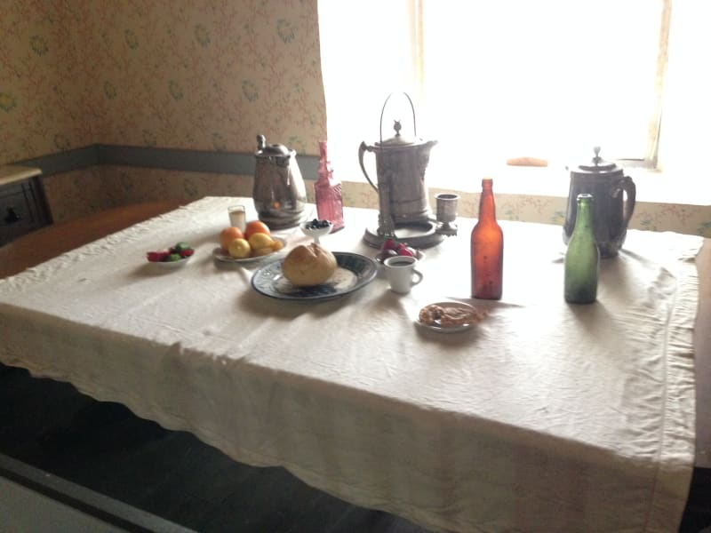 NO. 127 CASA DE GOVERNOR PÍO PICO - Dining Room