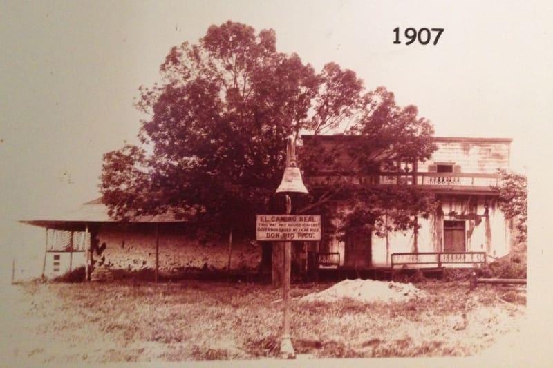 NO. 127 CASA DE GOVERNOR PÍO PICO -   1907 Pico Casa