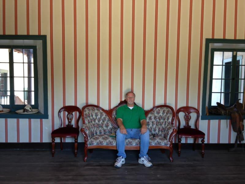 NO. 127 CASA DE GOVERNOR PÍO PICO - Guests are invited to sit in the parlor
