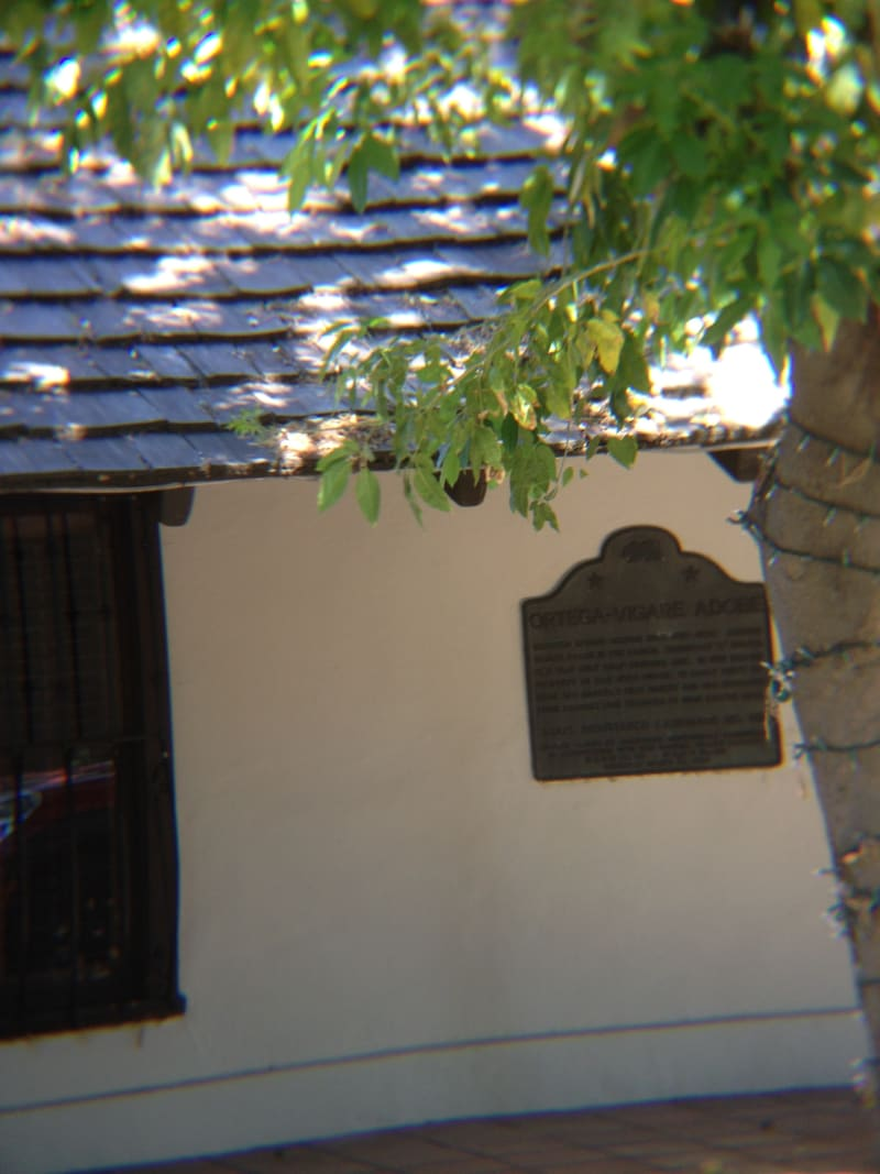 NO. 451 THE ORTEGA-VIGARE ADOBE - State Plaque