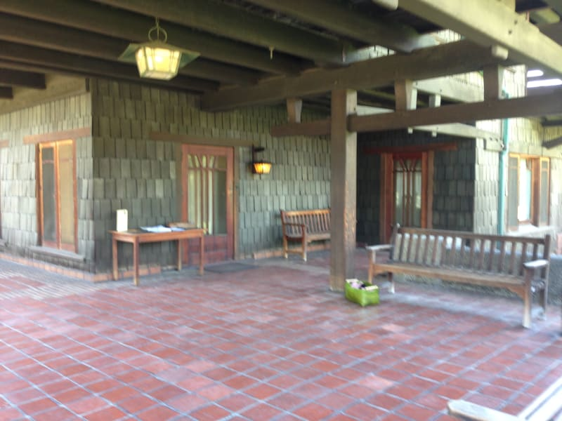 NO. 871 THE GAMBLE HOUSE - Front Porch