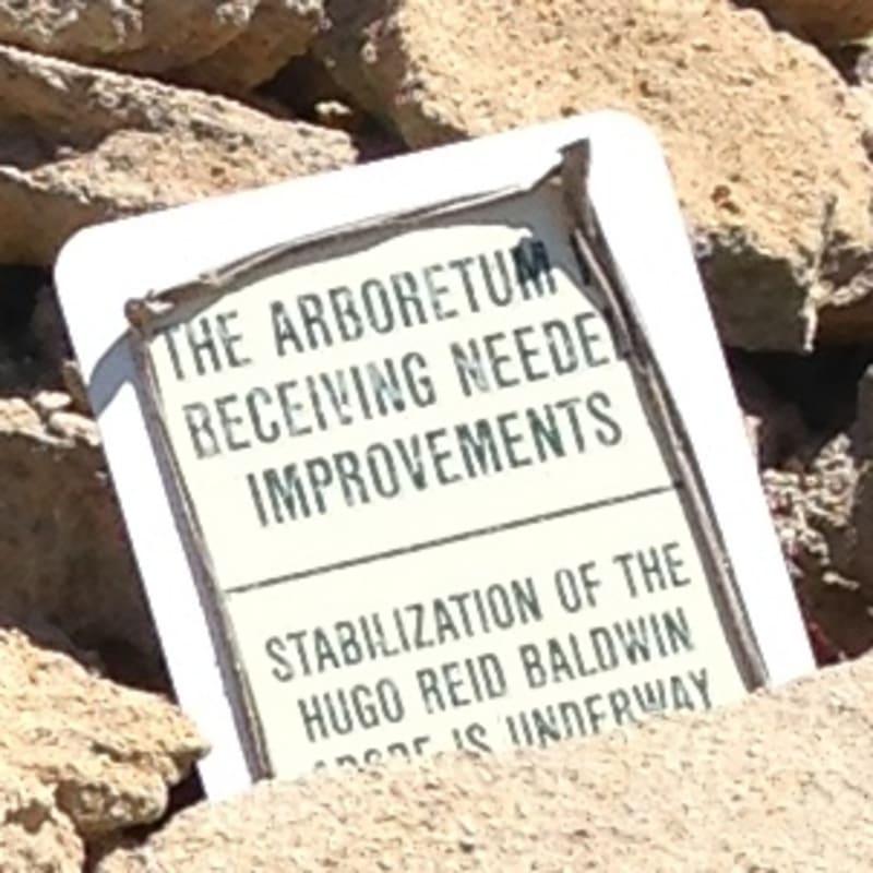 NO. 368 REID-BALDWIN ADOBE -  Reconstruction  Sign