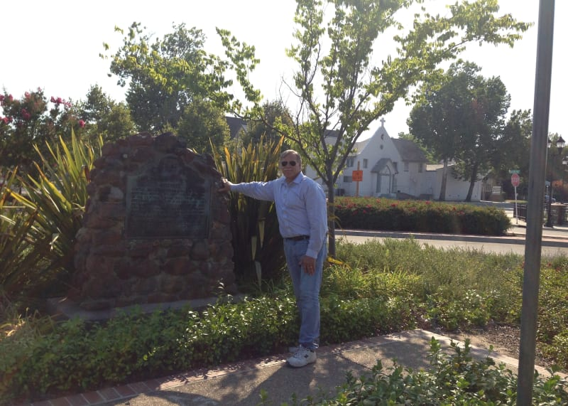 NO. 780-1 FIRST TRANSCONTINENTAL RAILROAD-ROSEVILLE - Marker