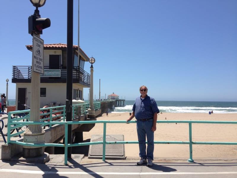 NO. 1018 MANHATTAN BEACH STATE PIER - Marker