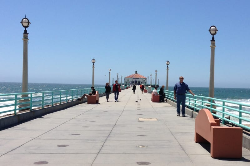 CHL #1018 MANHATTAN BEACH STATE PIER