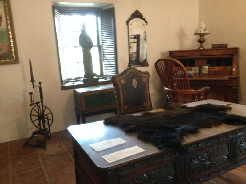 NO. 199 THE SERRANO ADOBE - Office