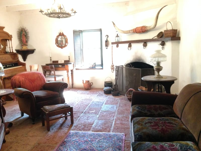 NO. 199 THE SERRANO ADOBE - Parlor