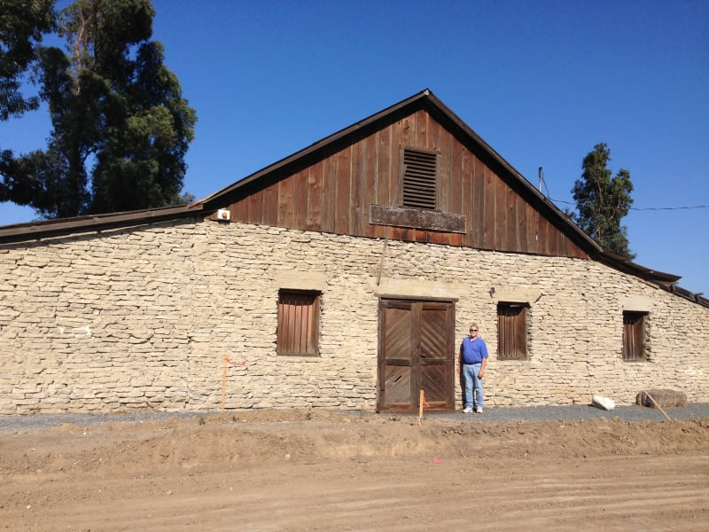 NO. 191 YORBA-SLAUGHTER ADOBE - Wine Barn