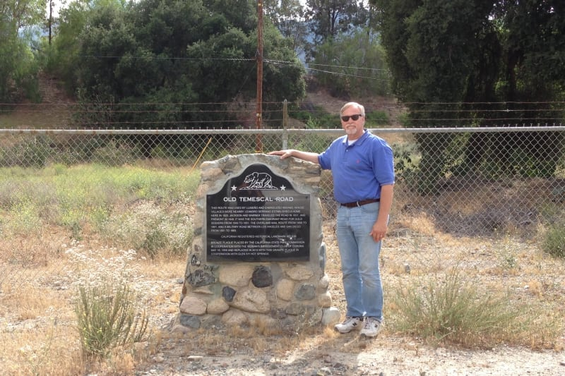 NO. 638 OLD TEMESCAL ROAD - Marker