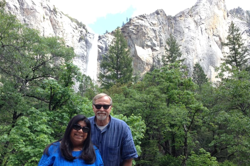 NO. 790 YOSEMITE VALLEY - Bridal Veil Falls