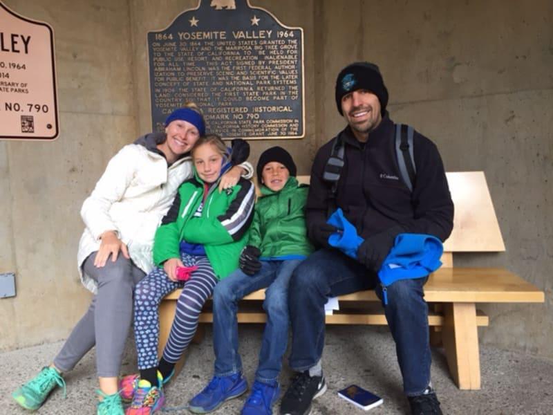 No. 790 YOSEMITE VALLEY - The kids and grandkids